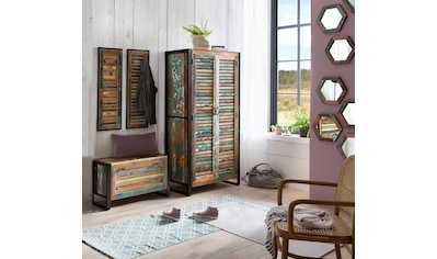 SIT Garderoben-Set »Fiume«, (4 tlg.), recyceltes Altholz in Lamellen Optik kaufen