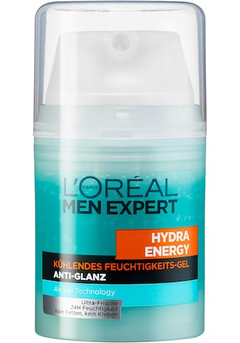 L'ORÉAL PARIS MEN EXPERT Feuchtigkeitscreme »Hydra Energy Anti-Glanz«, mit Matteffekt & kühlender Wirkung; ohne fetten kaufen