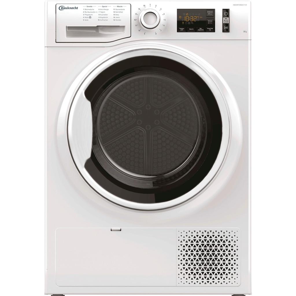BAUKNECHT Wärmepumpentrockner »T ADVANCE M11 8X3WK DE«, 8 kg
