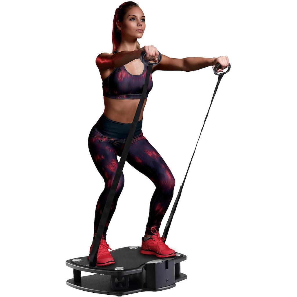 Body Sculpture Vibrationsplatte »Vibro Plate Premium«, (mit Trainingsbändern)