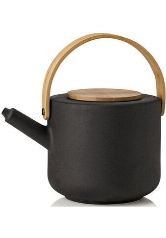 Stelton Teekanne »Theo«, 1,25 l, Steinzeug mit Bambus-Deckel kaufen