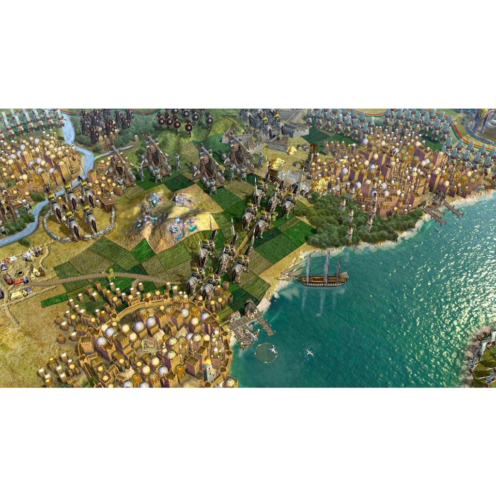 Take 2 Spiel »Civilization V - The Complete Edition«, PC, Software Pyramide