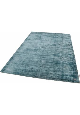 TOM TAILOR Teppich »Shine uni«, rechteckig, 8 mm Höhe, Vintage Design, mit elegantem Schimmer, Wohnzimmer kaufen