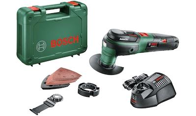 Bosch Powertools Akku-Multifunktionswerkzeug »UniversalMulti 12«, 12 V, mit Akku und... kaufen