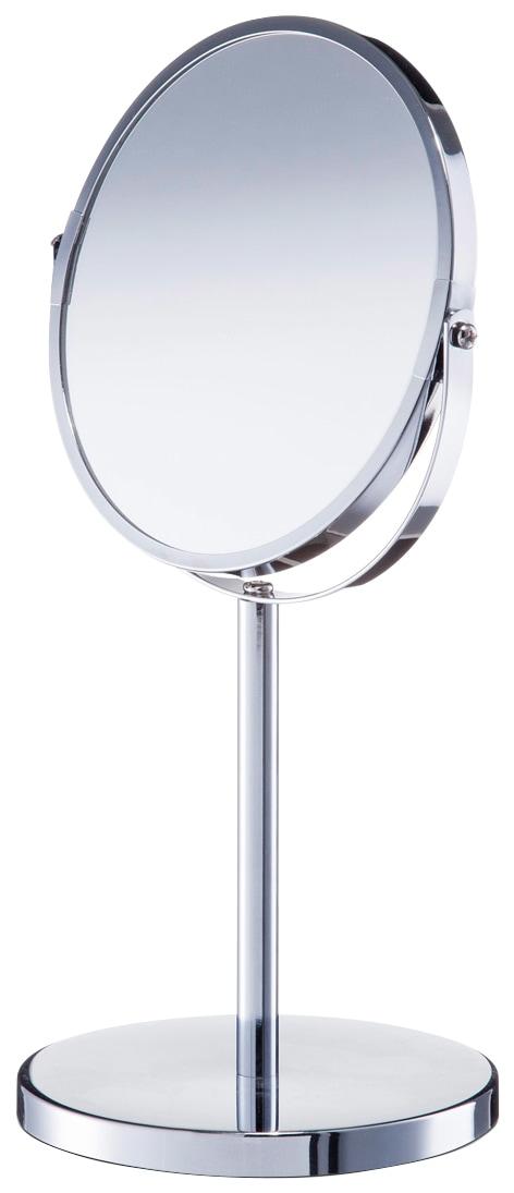 ZELLER Kosmetikspiegel | Bad > Bad-Accessoires > Kosmetikspiegel | Grau | Glänzend - Glas | Zeller Present