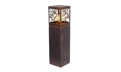 Brilliant Leuchten Whitney Außensockelleuchte 59cm rostfarbend kaufen