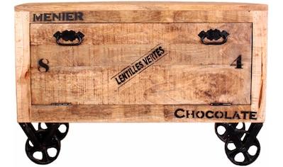 SIT Schuhschrank, im factory design, Breite 85 cm, Shabby Chic, Vintage kaufen