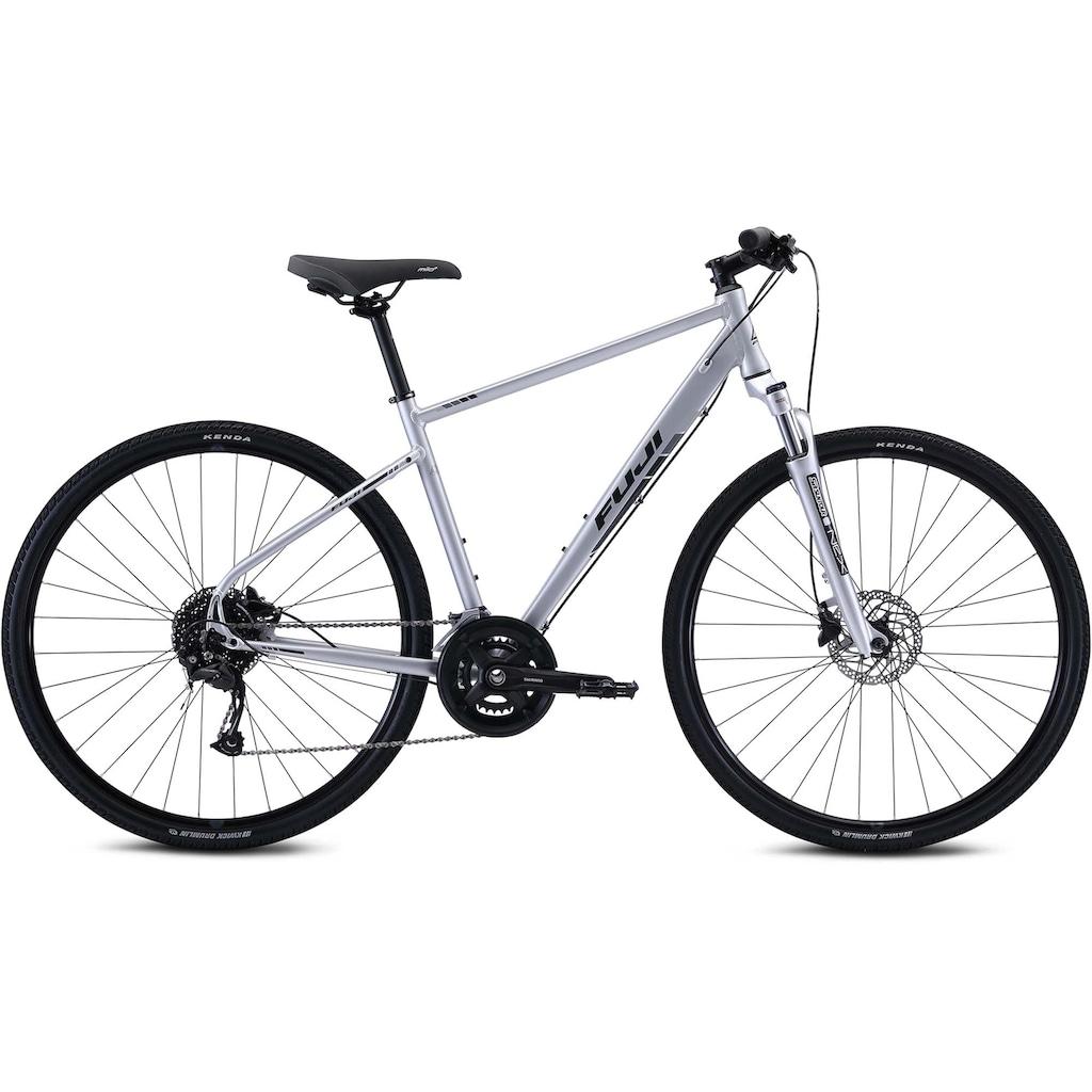 FUJI Bikes Fitnessbike »Traverse 1.3«, 18 Gang, Shimano, Alivio Shadow Schaltwerk, Kettenschaltung