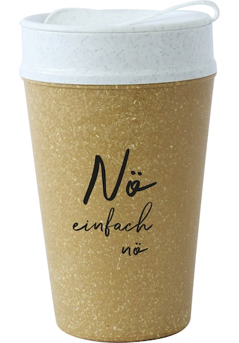 KOZIOL Coffee-to-go-Becher »ISO TO GO NÖ«, (1 tlg.), 100% biobasiertes Material,... kaufen