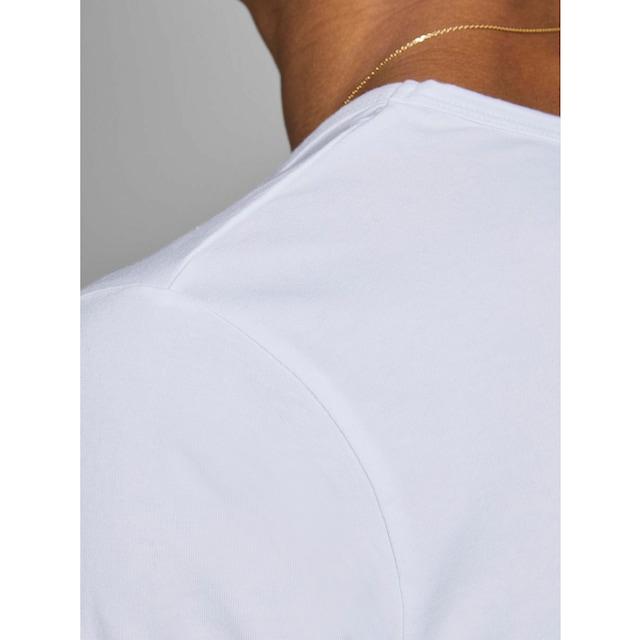 Jack & Jones T-Shirt »SLIM- FIT BASIC TEE V-NECK«