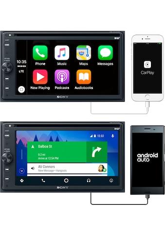 Sony »XAV - AX205ANT« Radio (Digitalradio (DAB+),FM - Tuner,AM - Tuner, 220 Watt) kaufen