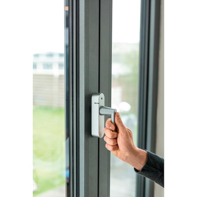 SCHELLENBERG Alarmfenstergriff »46513«, silber, Funk Smart Home, 118 db