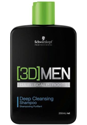 Schwarzkopf Professional Haarshampoo »3D Men Deep Cleansing Shampoo«, (1 tlg.),... kaufen