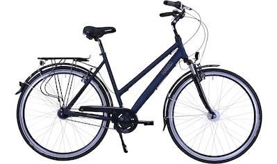 HAWK Bikes Cityrad »Lady Deluxe«, 7 Gang, Nabenschaltung kaufen