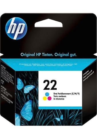 HP »hp 22 Original Cyan, Magenta, Gelb« Tintenpatrone (1 - tlg.) kaufen