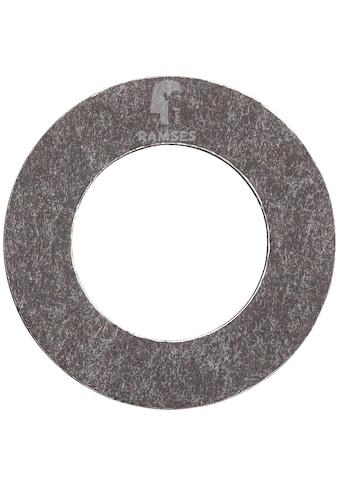 RAMSES Dichtring , DIN 7603 Form A 12 x 21 x 1,0 mm Alu verzinkt 100 Stück kaufen