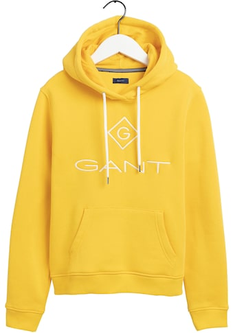 Gant Kapuzensweatshirt, mit Kontrast Logostickerei kaufen