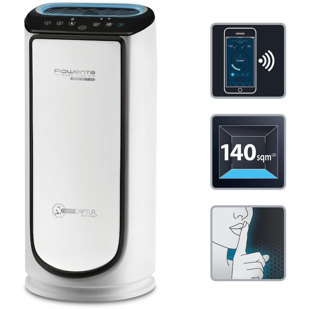 Rowenta Luftreiniger »PU6080 Intense Pure Air Connect XL«, für 140 m² Räume, Timer, Auto-Funktion