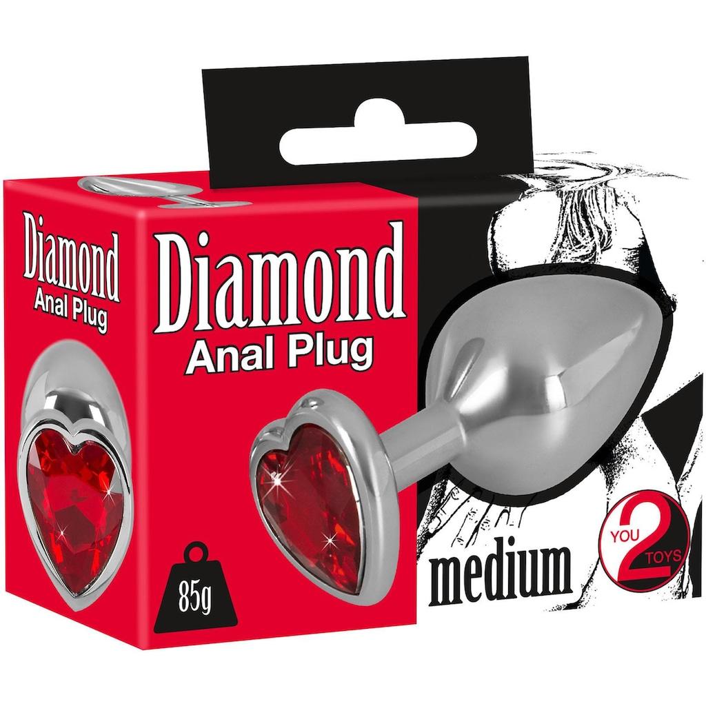 You2Toys Analplug »Diamond Anal Plug«, medium