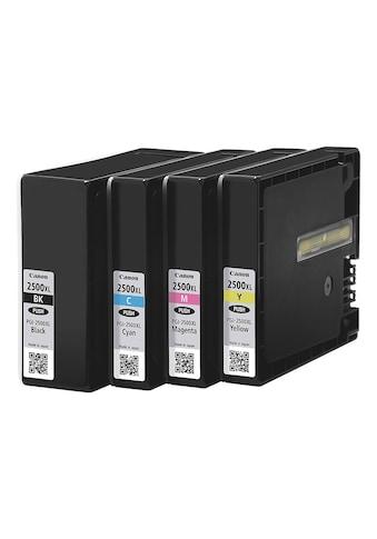 Canon Tintenpatronen - Set »PGI - 2500XL BK/C/M/Y« kaufen