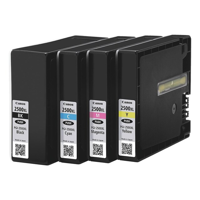 Canon Tintenpatronen-Set »PGI-2500XL BK/C/M/Y«