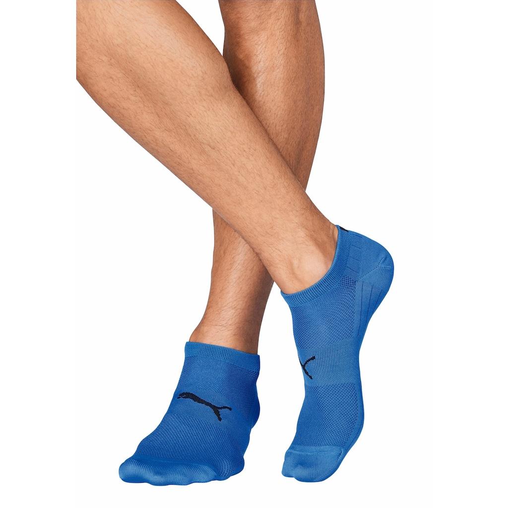 PUMA Sneakersocken, (2 Paar), mit Strickzonen in Netzoptik