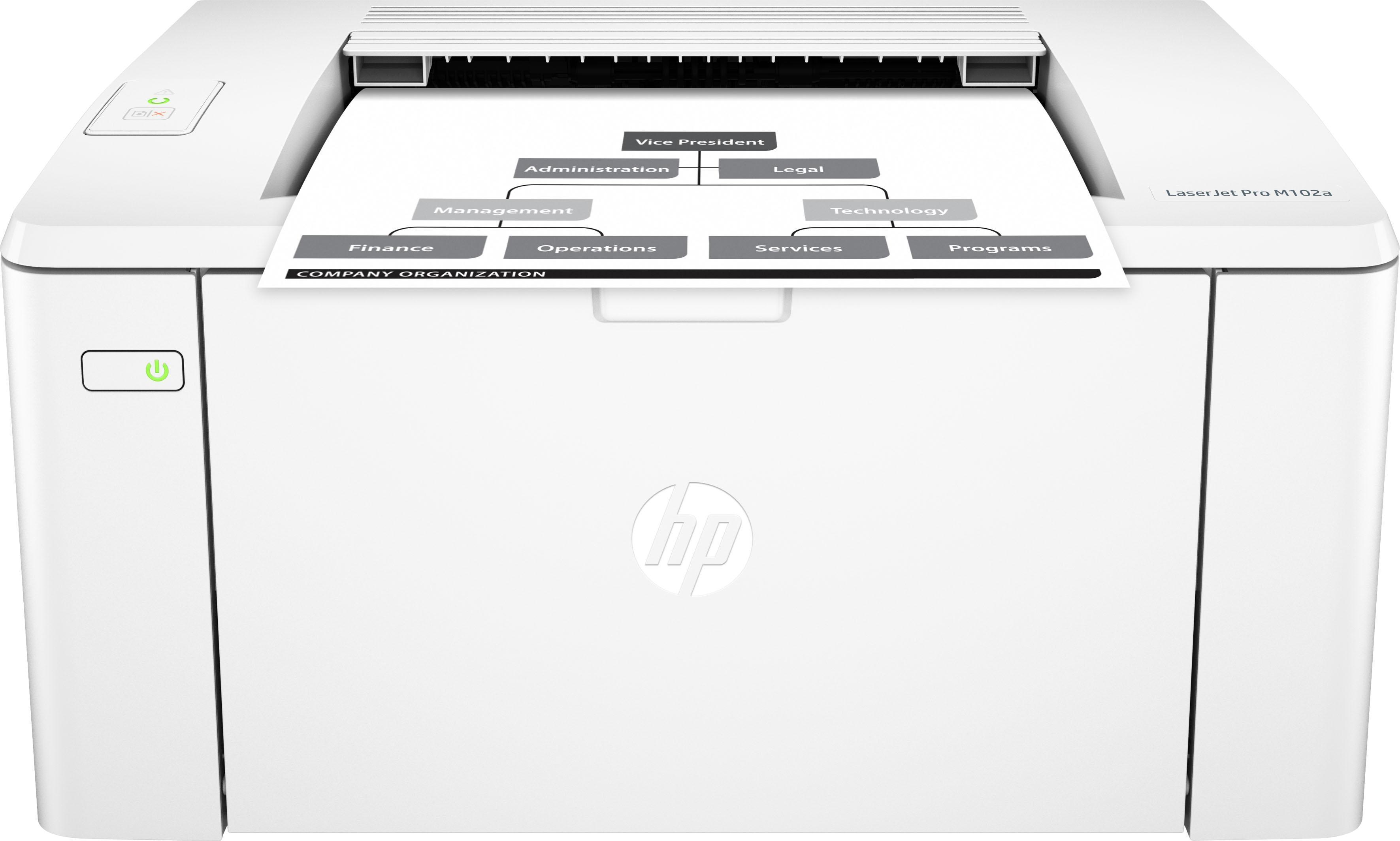 hp laserjet pro m102a laserdrucker auf rechnung kaufen. Black Bedroom Furniture Sets. Home Design Ideas