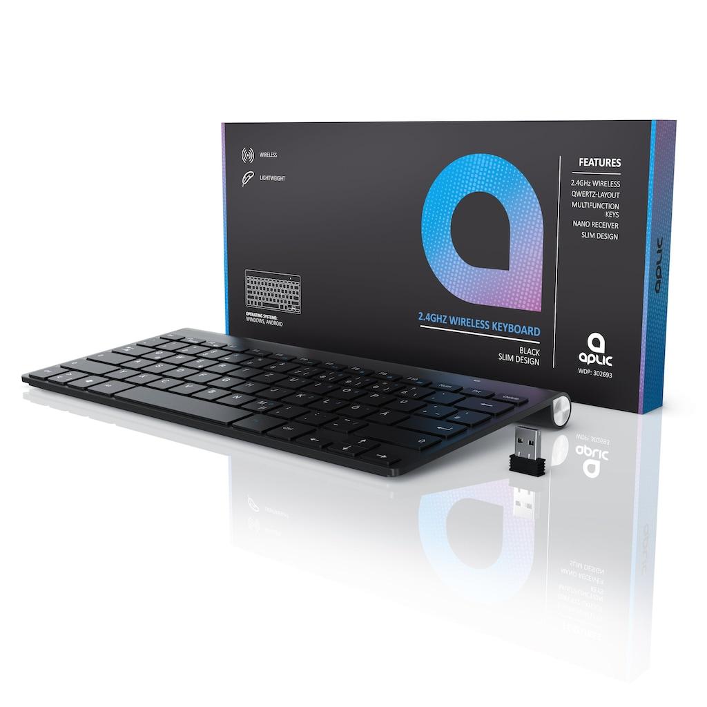 Aplic kabellose Tastatur mit Windows Tastaturlayout