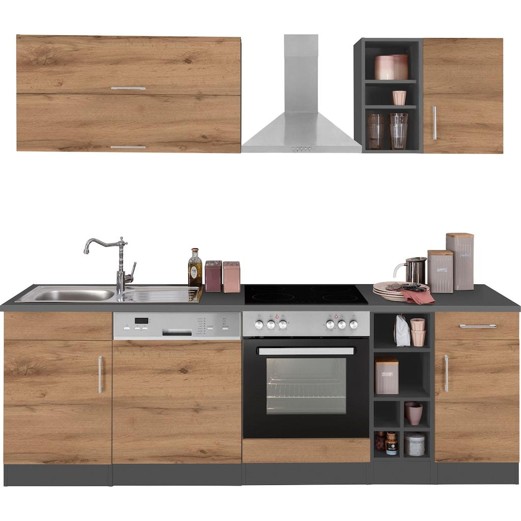 HELD MÖBEL Küchenzeile »Colmar«, ohne E-Geräte, Breite 240 cm