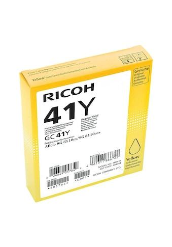 Ricoh Gel - Patrone GC41Y »405764 HC« kaufen