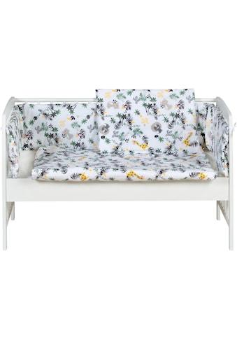 Schardt Beistellbett »Micky, weiß«, mit Matratze, Nestchen und Kinderbettwäsche... kaufen