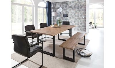 Home affaire Esstisch »Maryland«, mit Baumkante kaufen