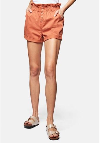 Mavi Shorts »TAYLOR«, mit offenener Knopfleiste kaufen