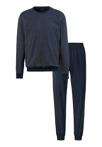 Schiesser Pyjama, mit bedrucktem Oberteil kaufen