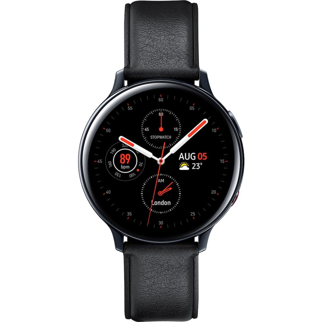 """Samsung Smartwatch »Galaxy Watch Active2 Edelstahl, 44 mm, LTE & Bluetooth (SM-R825)« (3,4 cm/1,4 """""""