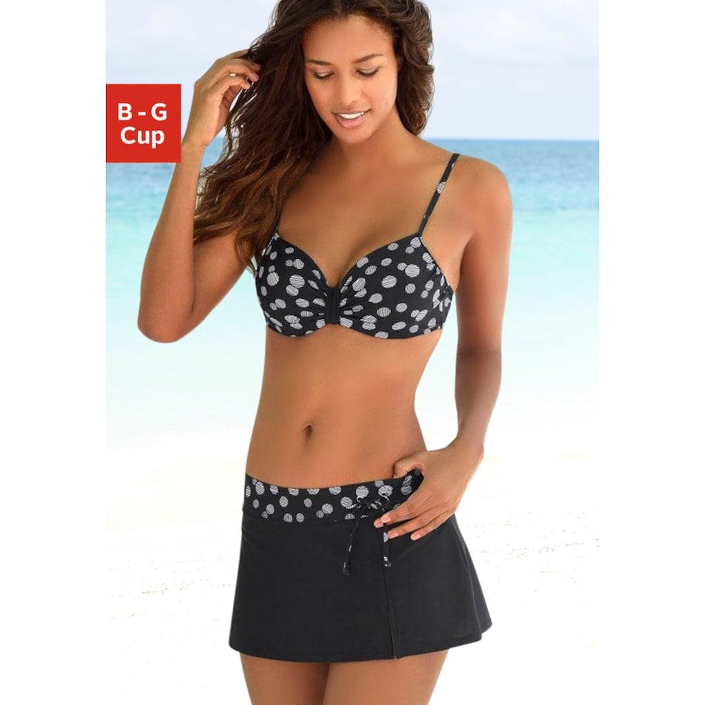 LASCANA Bügel-Bikini, mit einer schlichten Schlaufe zwischen den Cups