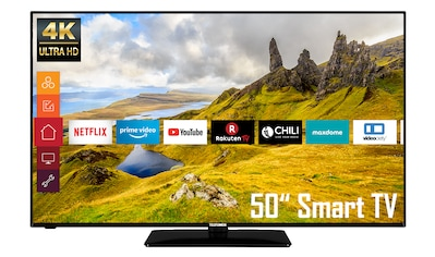 Telefunken D50U551N1CW LED - Fernseher (126 cm / (50 Zoll), 4K Ultra HD kaufen