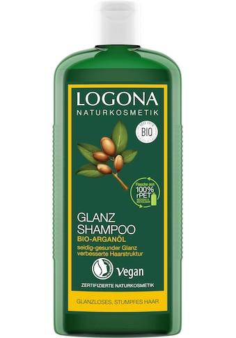 LOGONA Haarshampoo »Logona Glanz Shampoo Bio-Arganöl« kaufen