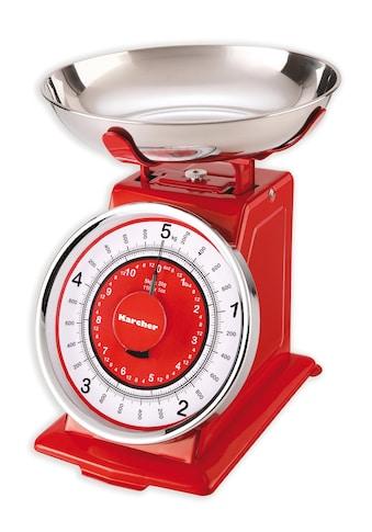 Karcher Küchenwaage »WAK 812«, im Retro-Design kaufen