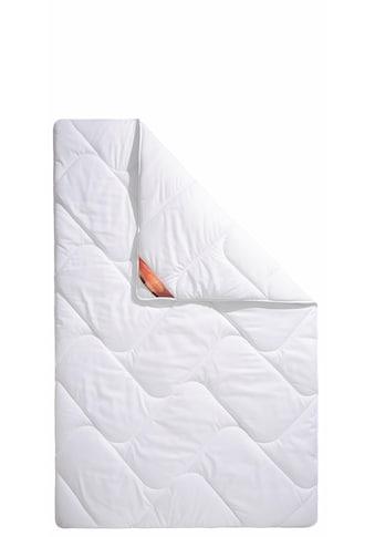 Schlaf-Gut Kunstfaserbettdecke »Proneem«, warm, (1 St.), Wirksam gegen Milben (von... kaufen