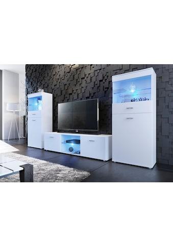 borchardt Möbel Wohnwand »Wand«, (Set, 3 St.) kaufen