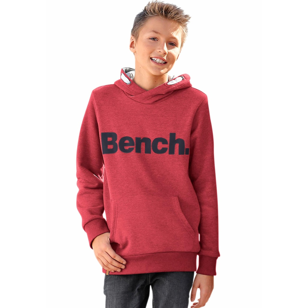 Bench. Kapuzensweatshirt »mit Kapuzenfutter in Kontrastfarbe«