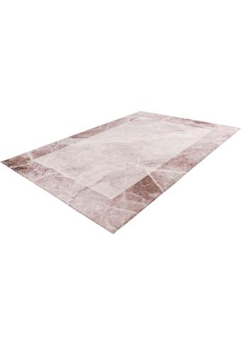 Obsession Teppich »Palazzo 270«, rechteckig, 10 mm Höhe, Marmor-Optik, Wohnzimmer kaufen