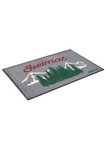 wash+dry by Kleen-Tex Fußmatte »Heimat«, rechteckig, 7 mm Höhe, Schmutzfangmatte, mit... kaufen