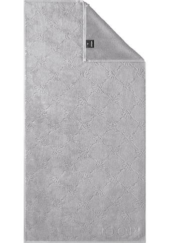 Joop! Handtücher »Uni Cornflower«, (2 St.), mit gewebtem Cornflower Muster kaufen