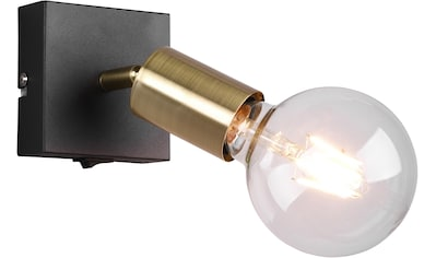 TRIO Leuchten Wandstrahler »VANNES, Wandspot mit Schalter, 1-flammig«, E27, 1 St.,... kaufen