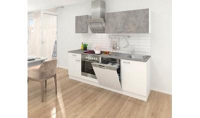 RESPEKTA Küchenzeile, mit E-Geräten, Breite 220 cm kaufen