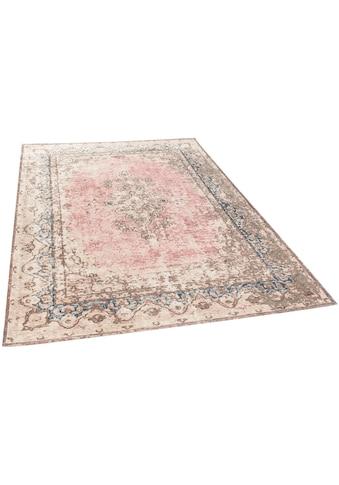 TOM TAILOR Teppich »Funky Orient Keshan«, rechteckig, 5 mm Höhe, Kurzflor, Vintage... kaufen