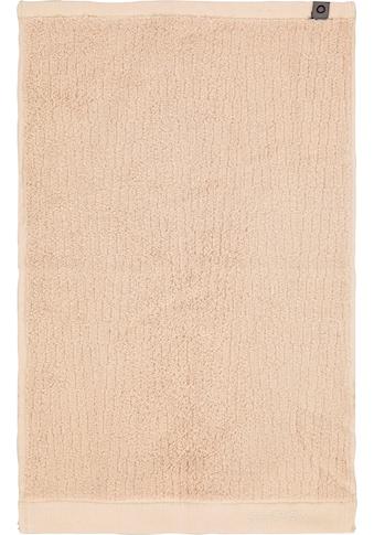 Essenza Gästehandtuch »Connect Organic Lines«, (3 St.), Ton-in-Ton Bordüre mit... kaufen