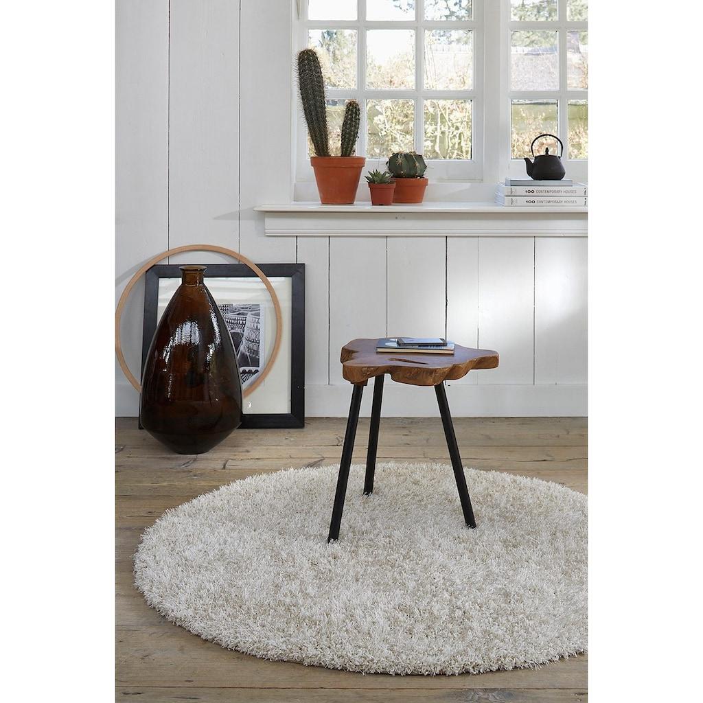 Esprit Hochflor-Teppich »Cosy Glamour«, rechteckig, 40 mm Höhe, Melange-Effekt